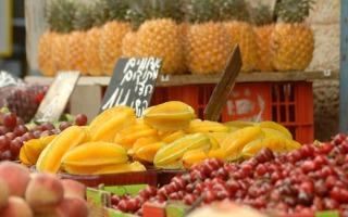 מחירי הירקות והפירות